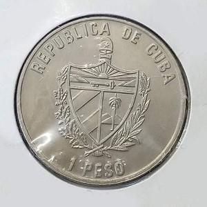 Cuba - 1 Peso de 2004