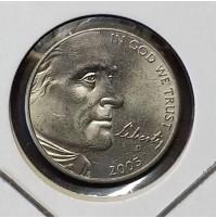 Estados Unidos (EE.UU.) - 5 centavos de 2005 D