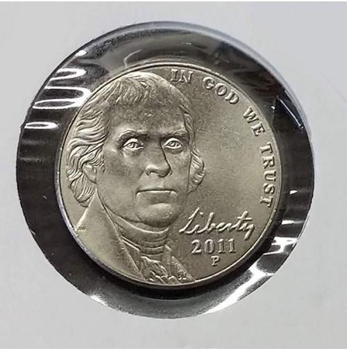 Estados Unidos (EE.UU.) - 5 centavos de 2011 P