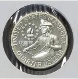 Estados Unidos (EE.UU.) - 25 centavos 1976 S