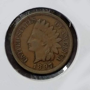 Estados Unidos (EE.UU.) - 1 centavo 1897