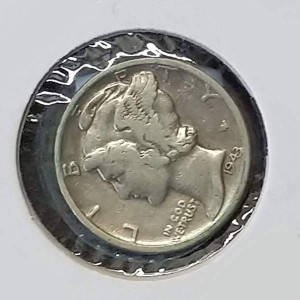 Estados Unidos (EE.UU.) - 1 Dime 1943 Plata