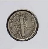 Estados Unidos (EE.UU.) - 1 Dime 1945 Plata