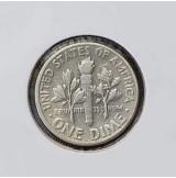 Estados Unidos (EE.UU.) - 1 Dime 1956 Plata