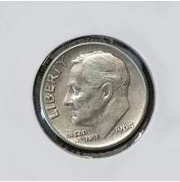 Estados Unidos (EE.UU.) - 1 Dime 1964 Plata