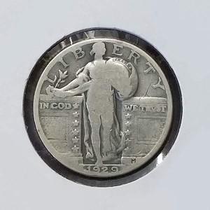 Estados Unidos (EE.UU.) - Quarter Dollar 1929 (1/4 dólar)