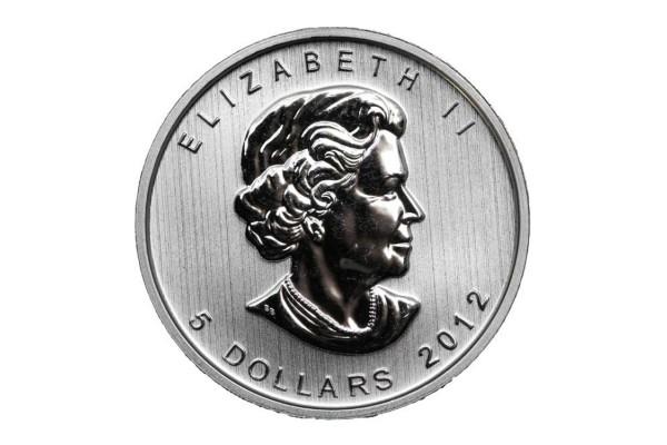 Canadá - 5  Dólares de Plata 2012  PROOF
