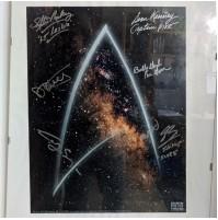 Poster de Star Trek firmado por 6 actores