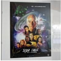 Poster de Star Trek firmado Mo Caró