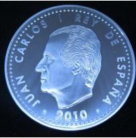 España - 10 euros 2010 - Campeones del Mundo de Fútbol Sudáfrica 2010