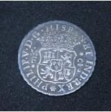 España - 2 Reales 1736 Felipe V de Plata