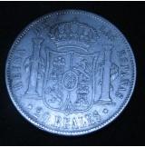 España - 20 Reales 1856 Isabel II - Madrid