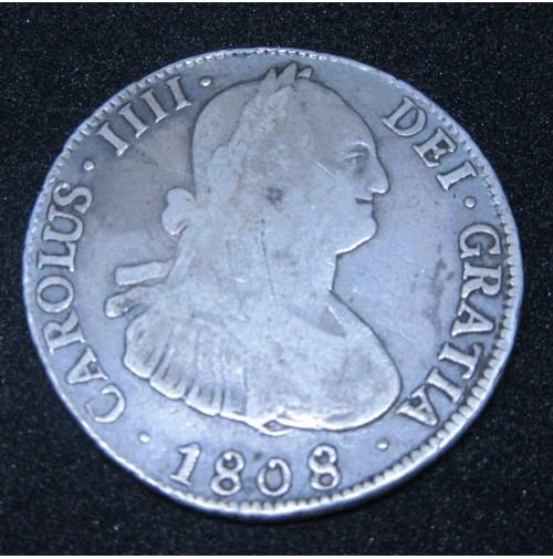 España - 4 Reales 1808 Potosí  Carlos IIII
