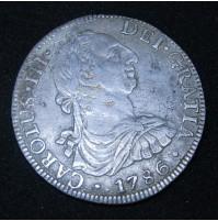 España - 8 Reales 1786 México FM