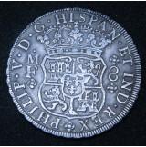 España - 8 Reales 1745 México VD Felipe V