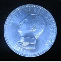 España - 30 euros 2014 - Felipe VI Rey de España - Plata