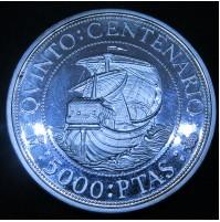 España - 5000 Pesetas 1989 V Centenario