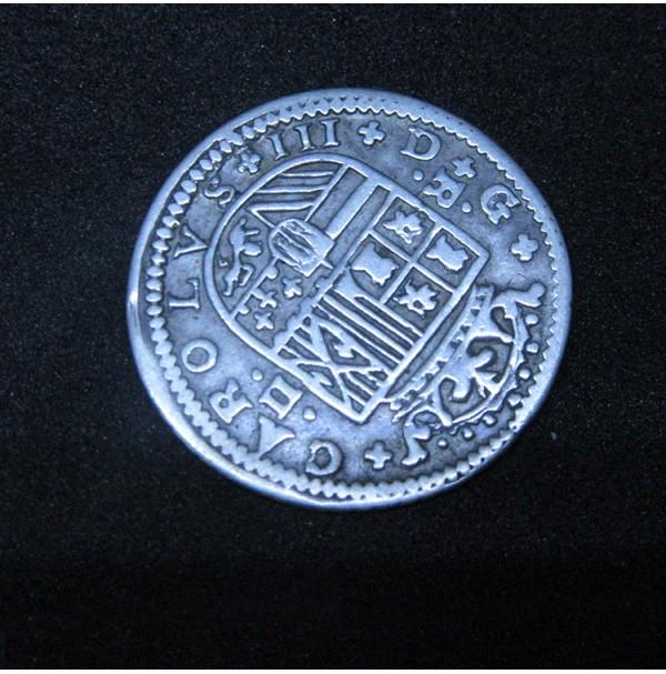 España - 1/2 Real de 1807 (Carlos IV)