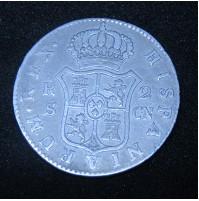 España - 2 Reales 1801 Sevilla - Carlos IIII (IV) - Plata