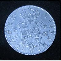 España - 2 Reales 1806 Sevilla CN - Carlos IIII (IV) - Plata