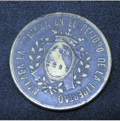 Medalla de 1887 - Reconquista Reyes Católicos