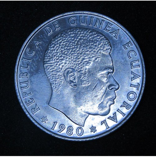 Guinea Ecuatorial - Serie 5, 25, 50 Bipkwele 1980 - Excelentes