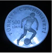 Turquía - 500 Liras 1982 Mundial de España