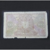 España - 100 Pesetas de 1940 de Cristóbal Colón