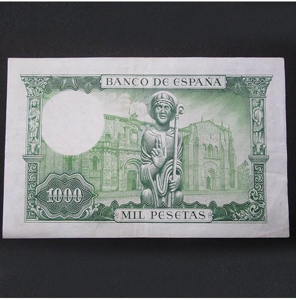 España - 1000 Pesetas 1965 - San Isidoro con ERROR