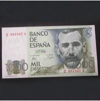 España - 1000 Pesetas 1978 - Benito Pérez Galdós
