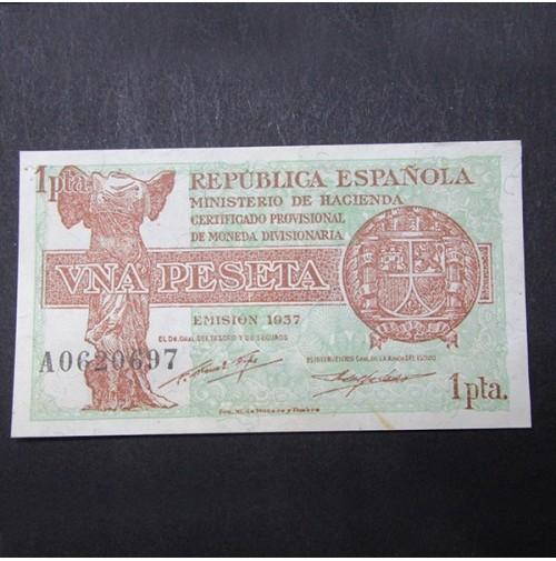 España - 1 Peseta 1937 República Española
