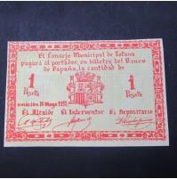 España - 1 Peseta Totana