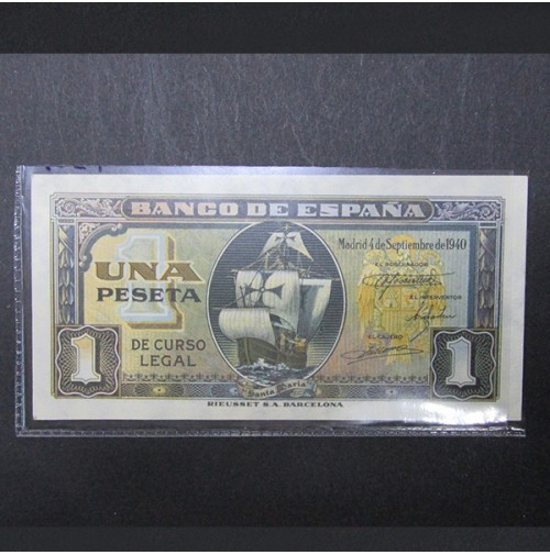 España - 1 Peseta 1940 (Santa María)