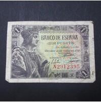 España - 1 Peseta 1943 (Fernando El Católico)