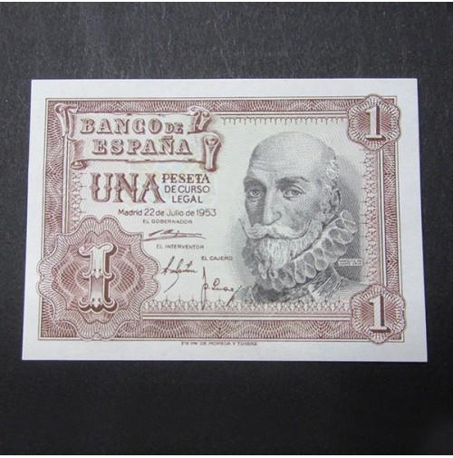 España - 1 Peseta 1953 - Marqués de Santa Cruz