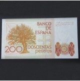 España - Pareja de Billete de 200 pesetas de 1980 consecutivos