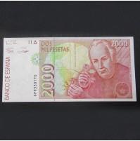 España - 2000 Pesetas 1992 - Hernán Cortés