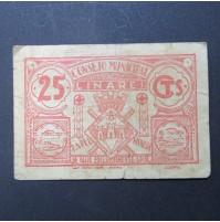 España - 25 céntimos Linares - República Española