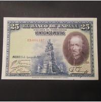España - 25 Pesetas 1928 - Calderón de la Barca - Lote de 7 Billetes