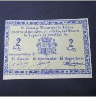 España - 2 Pesetas de Totana