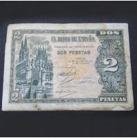 España - 2 Pesetas 1938 (Burgos)