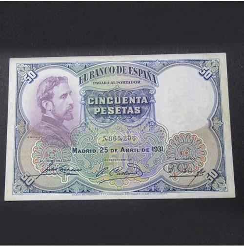 España - 50 Pesetas 1931 - Rosales