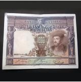 España - 1000 Pesetas 1925 - Pareja de Billetes consecutivos