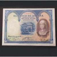 España - 500 Pesetas 1927 (Isabel La Católica)