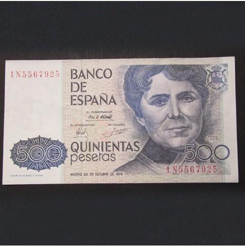 España - 500 Pesetas 1979 Rosalia de Castro