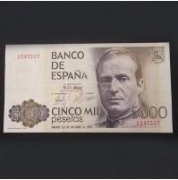España - 5000 Pesetas 1979 Sin Serie S/C