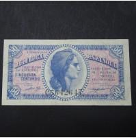 España - 50 Céntimos de 1937 (República Española)