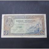 España - 2 Pesetas 1940 - Alcázar de Segovia