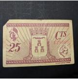 España - Lote de billetes locales de Albacete