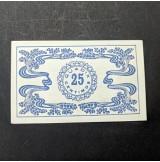 España - Pareja de billetes locales de Guadix de 1938